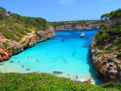 Caló des Moro beach Mallorca