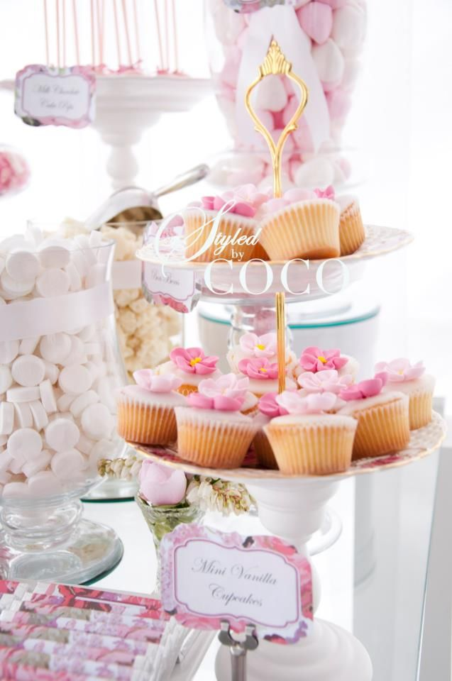 129 best Theme: Pink Rose Party images on Pinterest | Kitchen tea ...