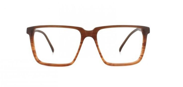 70´s BOY I Large square shape reminiscent of the 70´s. The thin cut of the acetate keeps the look light and elegant. Brown gradient.