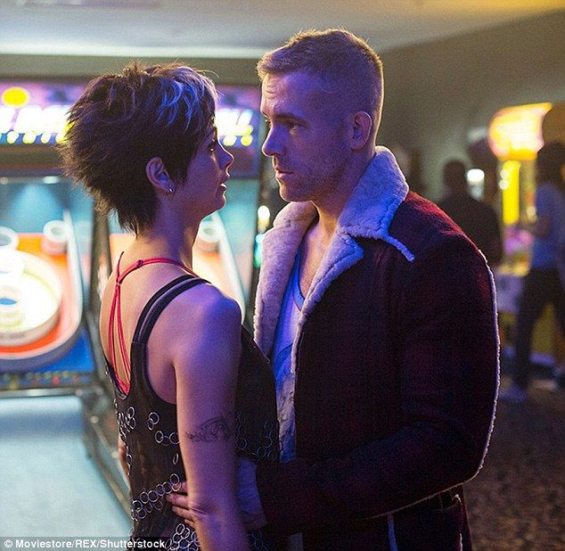 Romance: Ryan plays mercenary Wade Wilson, later known by his alter-ego Deadpool, who falls in love with girlfriend Vanessa, portrayed by Morena Baccarin, before gaining superpowers and becoming disfigured