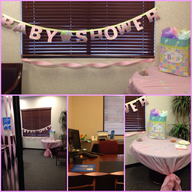 surprise office baby shower my service manager is so fun and creative