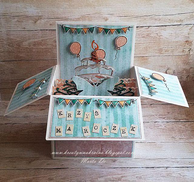 Kreatywna Kraina: Card-in-box.