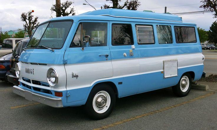 "1968 Dodge A108 Van ""Sportsman Camper"""
