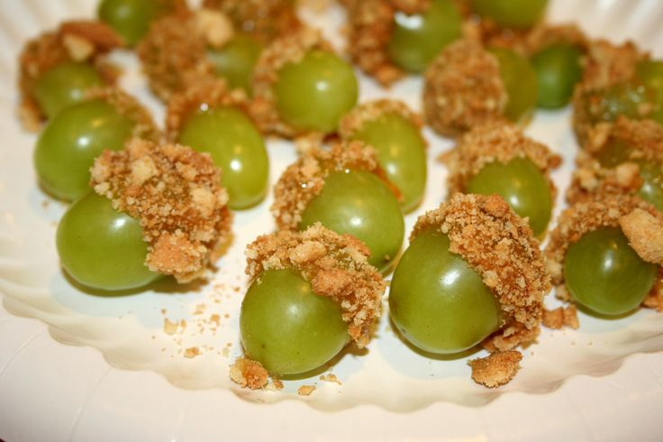 """Frog-o's """"Rib-bites"""" are fun to make and oh-so-tasty. The perfect fall snack!"""