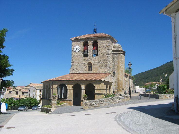 Iglesia de Santa Eufemia, Tiebas, Navarra, Camino Aragonés