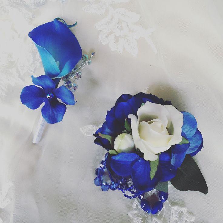 #blueflowers #artificialflowers #weddingflowers from my Etsy shop…