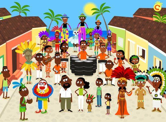 le carnaval de Trinidad - Nesk pour Mobiclic