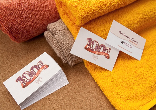 Bussines Card for 1001 Maruntisuri   #logo #identity #design #branding