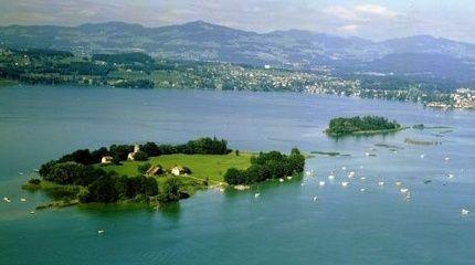 The island of Ufenau in Lake Zurich - Switzerland Tourism