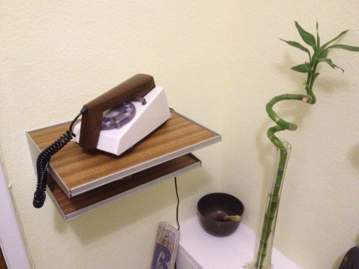 what's coolest? Trim phone? trim phone telephone shelf in purest plastic or bamboo?