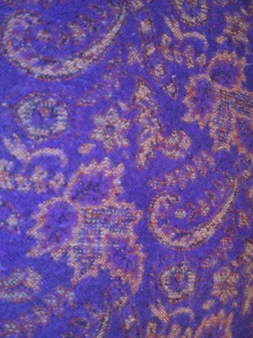 Not quite paisley but some similarities (on a shawl)
