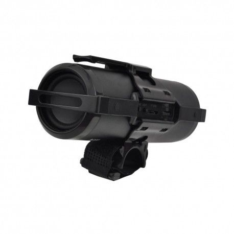 Acumulator extern, Lanterna Bicicleta, Boxa Bluetooth, 4000mAh - Negru