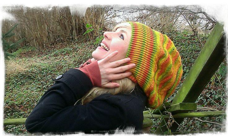 Große Elfenhaft - Frisurenmütze von Elfenwerk - knittingdesign by Jolanta-H.Ahlers auf DaWanda.com