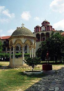 Η φιάλη της Ιεράς Μονής Εσφιγμένου / The phiale of the Holy Monastery of Esphigmenou
