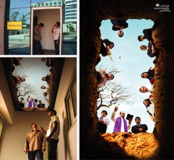 anti-smoking ad