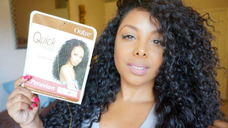 ♡ $13 GORGEOUS Hair | Outre Batik Peruvian Half Wig - MY Hair [but bette...