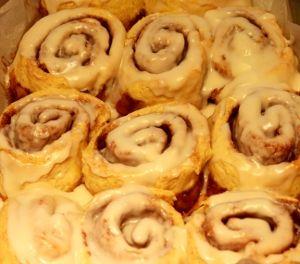 Gluten Free Yeast Free Cinnamon Roll