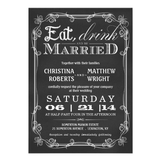 1000 Images About Eat Drink And Be Married On Pinterest: 1000+ Images About Wedding Invitation Ideas On Pinterest