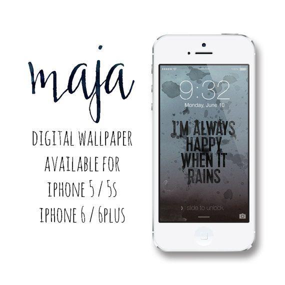 iPhone Wallpaper / iPhone Lock Screen / iPhone / iPhone Background / Phone Wallpaper / Phone Lock Screen / iPhone 5 / iPhone 5S / iPhone 6  Inspired