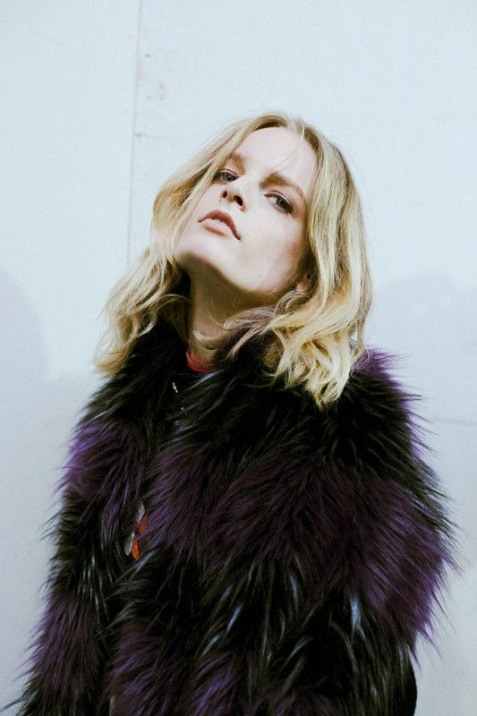 Backstage at Zadig & Voltaire AW14