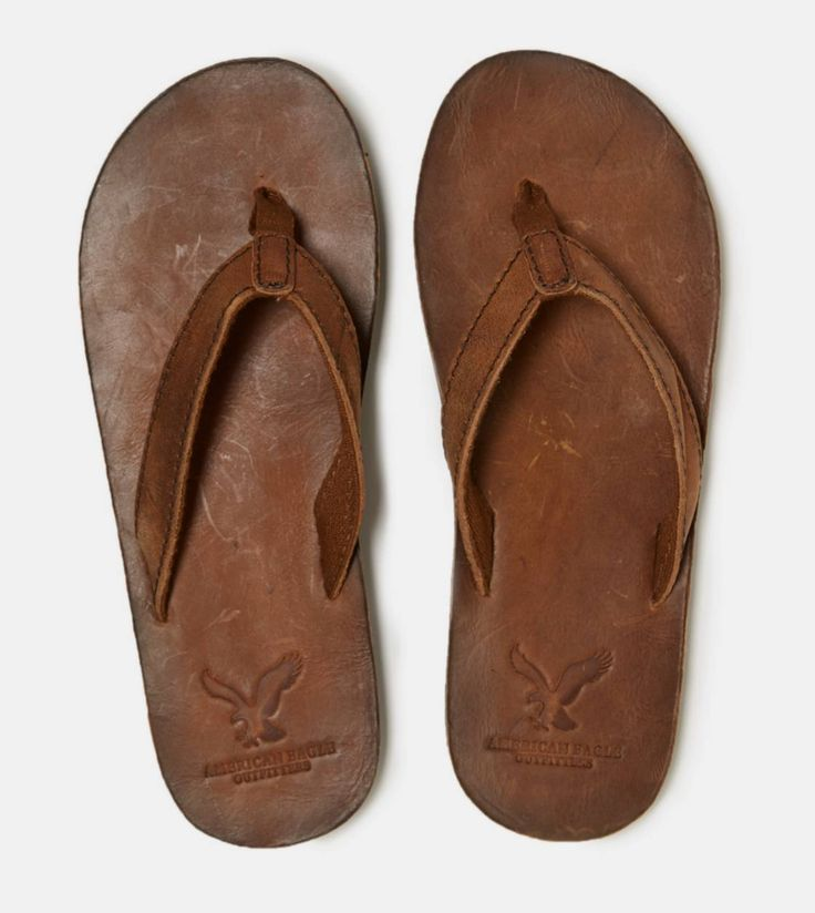AEO Leather Flip-Flop