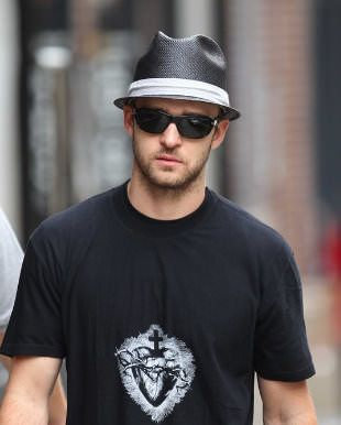 Celebrities Wearing Sunglasses Justin Timberlake Wearing