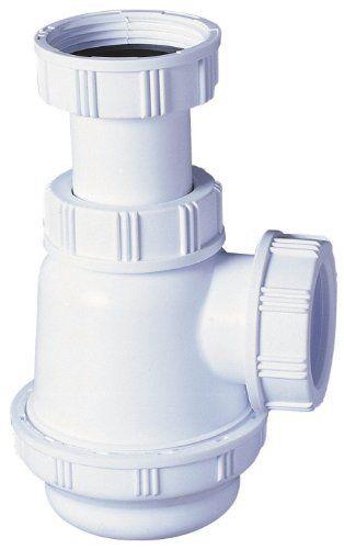 Wirquin SP3178 Siphon de lavabo/bidet à culot court: Price:3.03Siphon de lavabo en abs blanc. Siphon sortie diamétre 32 mm Matière :…
