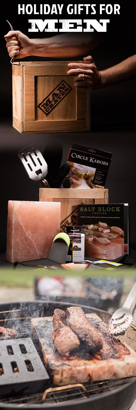 The best gift this Christmas won't be under the tree, it'll be on the grill: a steak seared in majesty! The Everest Grill Crate features a Himalayan Salt Block and recipe book, so he can explore uncharted territories behind the grill with the pinnacle of savory flavor. A must-have holiday gift for any grill master.