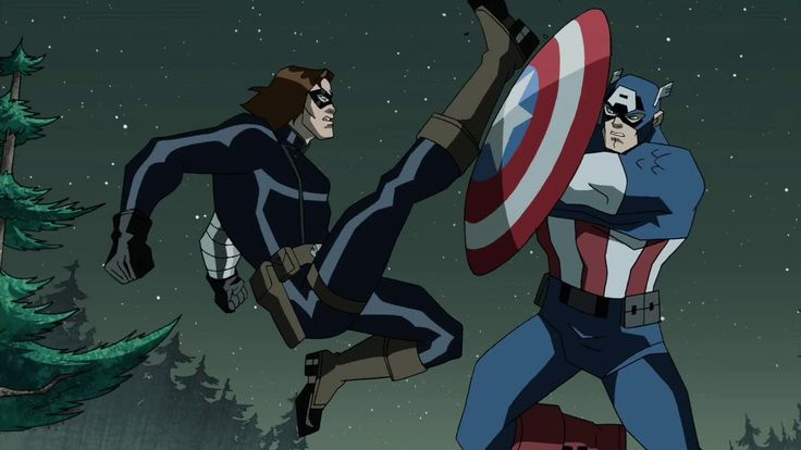 Captain America The Winter Soldier Trailer (Animated Version)
