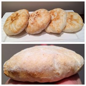Sin gluten: Sin gluten: Pan de pita paso a paso.