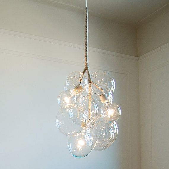 Pendant Bubble Chandelier from Etsy