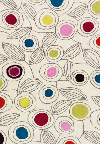The print & pattern blog featured Fiona Howard rug for Marks & Spencer