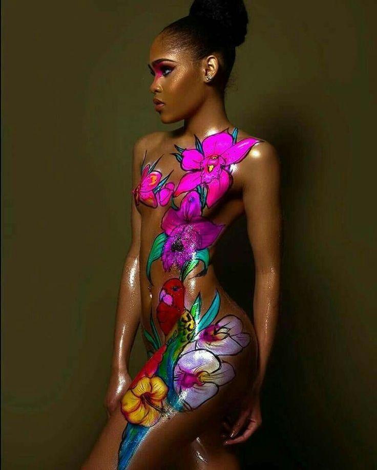 Women bodypaint images 80