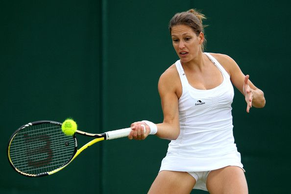 Stephanie Dubois - The Championships - Wimbledon 2011: Day Two