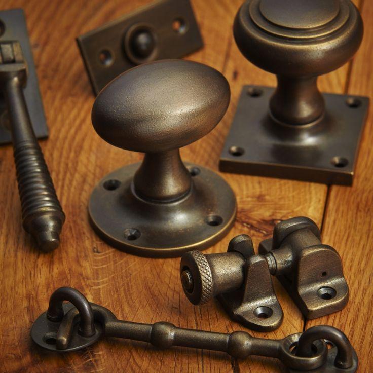 Croft - distressed antique brass finish
