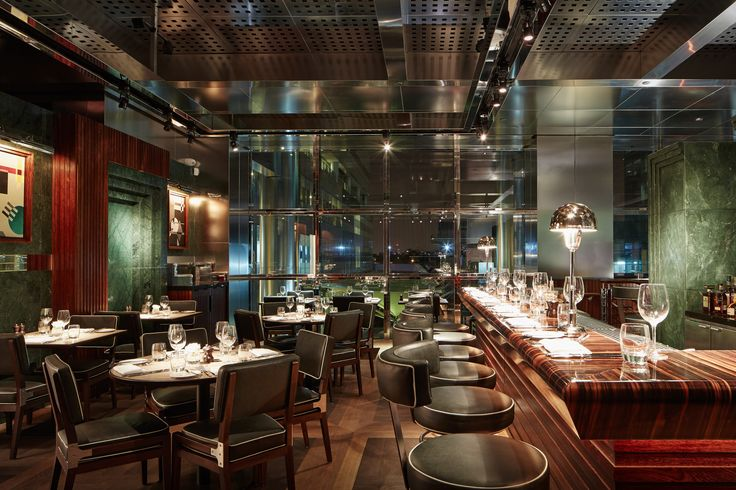 2014 Restaurant & Bar Design Award Winners,Restaurant/Bar in a Retail Space: One Canada Square (London) / David Collins Studio