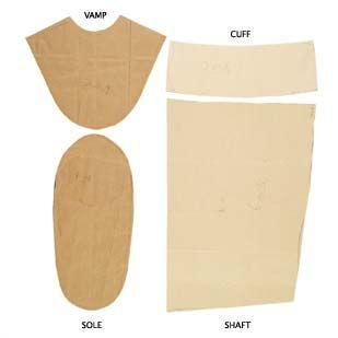 Kamik pattern peices