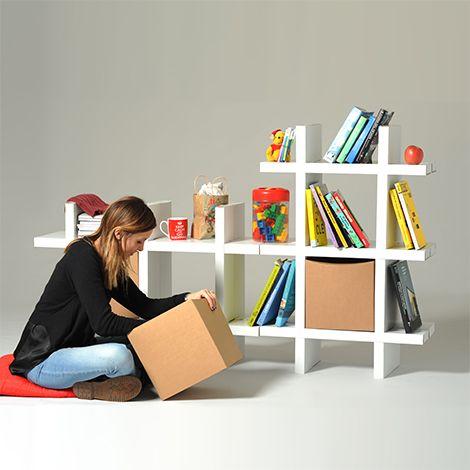 Modulo libreria in cartone | Matisse | Eco and You