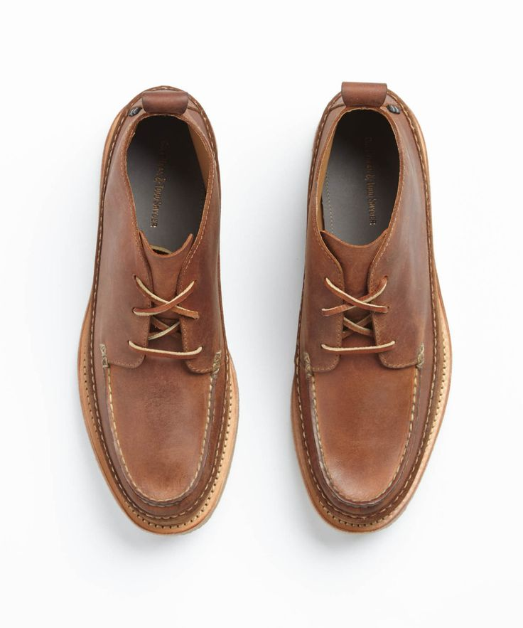 Cole Haan x Todd Snyder Olmstead Moc Chukka in British Tan