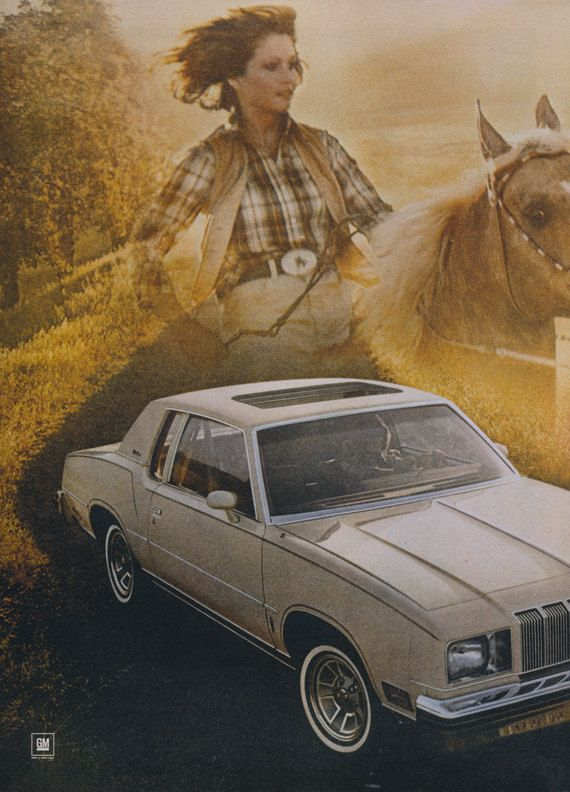 1978 Oldsmobile Cutlass Supreme Car Ad Vintage by AdVintageCom