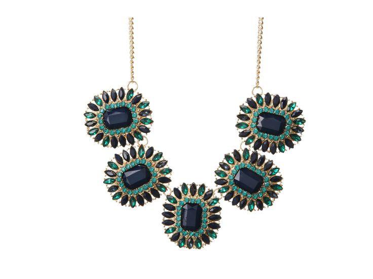 Sparkling Sage  Necklace