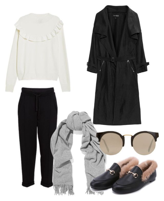 """""""Untitled #186"""" by stinasolheim on Polyvore featuring Acne Studios and MANGO"""