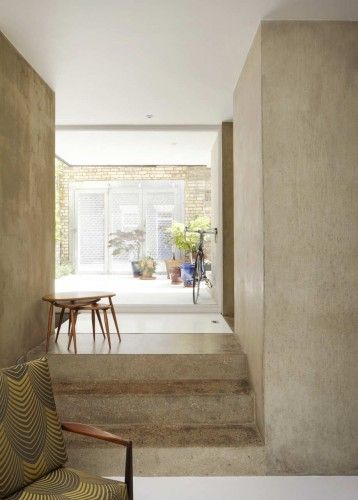 exposed concrete - Ashworth Parkes Architects