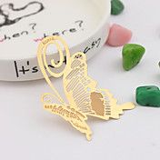 Lovely Gold Butterfly Bookmarks – USD $ 1.99