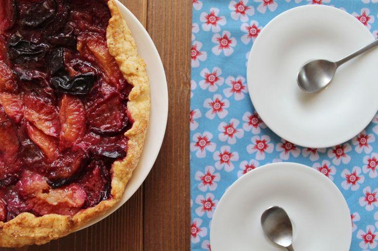 Tarte à l'ancienne aux prunes et à la cannelle - Royal Chill