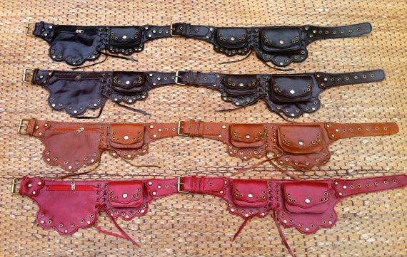 This gorgeous leather utility belt is handmade using the highest quality leather and antiqued brass detailing. Its unique steampunk styling