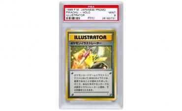 Rare Pokemon card fetches more than $54,000 at a recent auction
