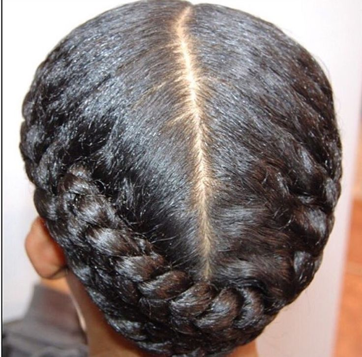 ThEy call this a protective style, I call it Old School style...Takes me back to my childhood days.