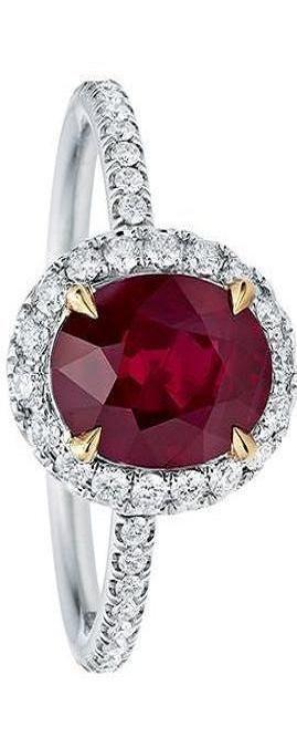 Harry Winston Diamonds and Ruby