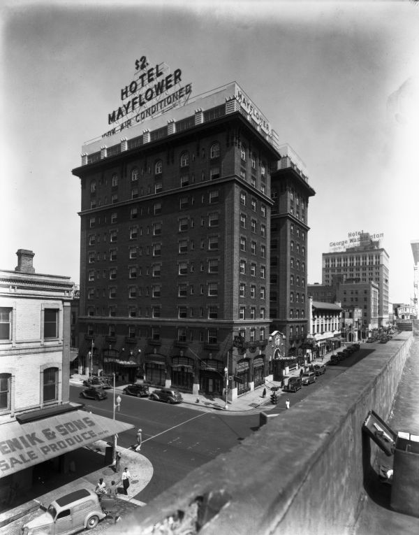 The Mayflower Hotel in Jacksonville was only $2 in 1938 and it included air conditioning!   Florida Memory
